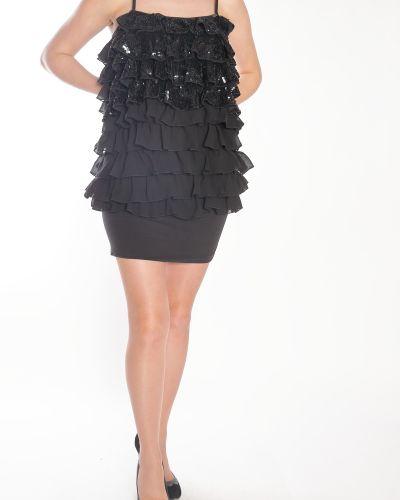 Платье с пайетками Miss Sixty