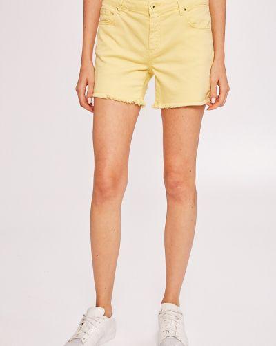 Джинсовые шорты с карманами с поясом Armani Exchange