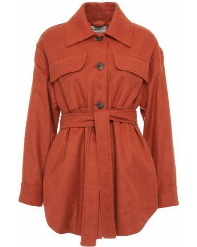 Pomarańczowy płaszcz Ottodame