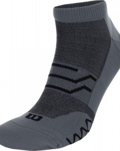 Нейлоновые носки - серые Wilson
