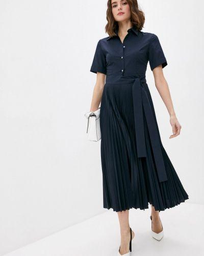 Повседневное синее платье P.a.r.o.s.h.