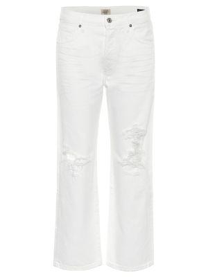 Укороченные джинсы - белые Citizens Of Humanity