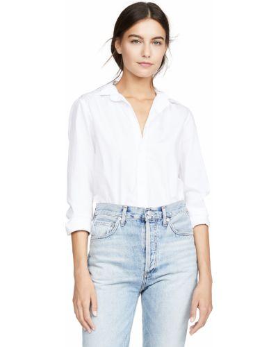 Рубашка из поплина - белая Frank & Eileen