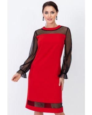 Платье сетчатое - красное Taiga