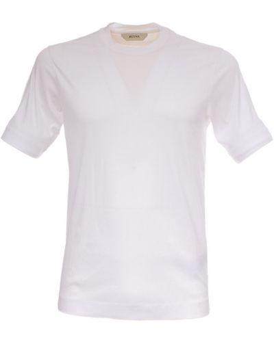 Biała t-shirt Ermenegildo Zegna