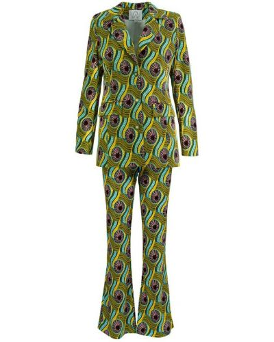 Zielony garnitur Fortini