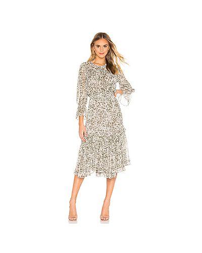 Платье миди шифоновое из вискозы Misa Los Angeles