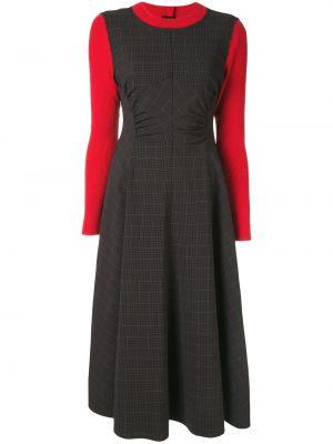Sukienka długa prążkowana Enfold