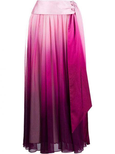Плиссированная юбка - розовая Jonathan Simkhai