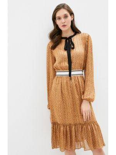 Коричневое платье Adl