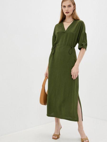 Прямое зеленое платье Argent