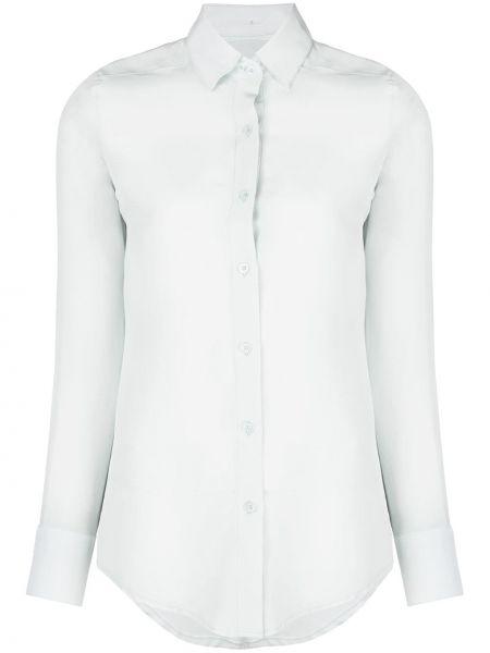 Синяя классическая рубашка с воротником Dresshirt