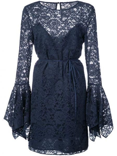 Кружевное платье - синее Zac Zac Posen