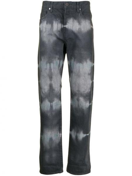 Czarny spodni klasyczne spodnie z paskiem John Elliott