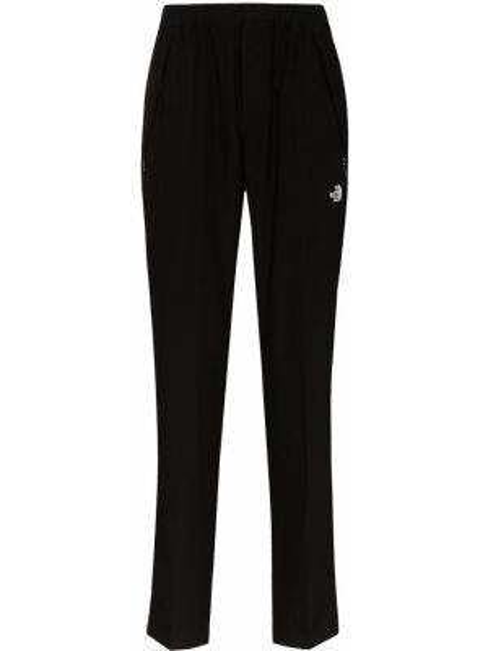 Czarne spodnie bawełniane z haftem The North Face Black Series