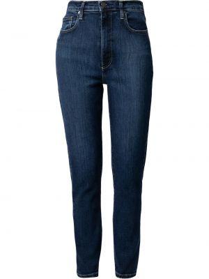 Хлопковые джинсы на молнии с завышенной талией Nobody Denim