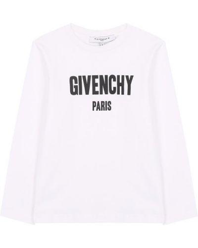 Футболка с логотипом хлопковая Givenchy