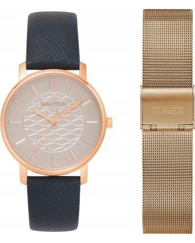 Zegarek do pływania - żółty Nautica