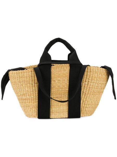 Хлопковая соломенная сумка-тоут Muun