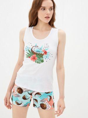 Белая пижама летняя Tenerezza
