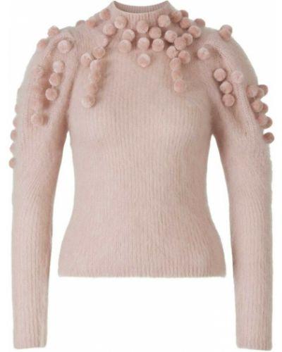 Różowy sweter Zimmermann