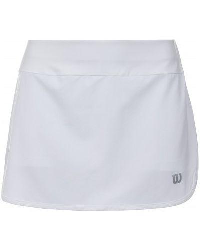 Теннисная юбка - белая Wilson