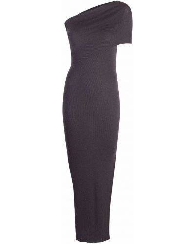 Sukienka prążkowana - fioletowa Rick Owens