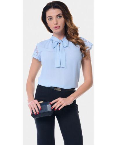 Блузка - голубая Genevie