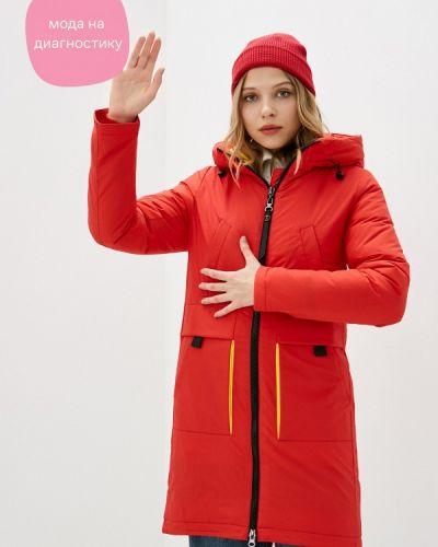 Утепленная красная куртка Froggi