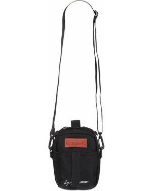 Czarna torebka crossbody z haftem Yohji Yamamoto