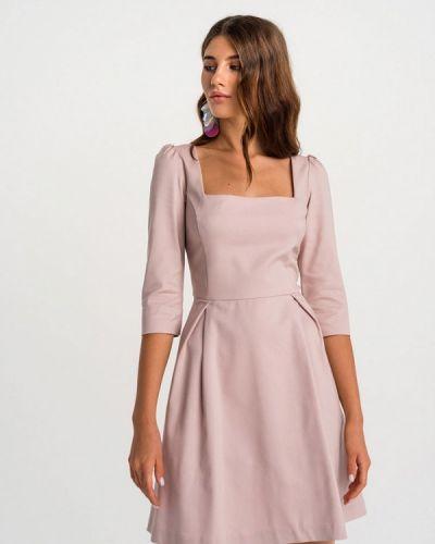 Прямое розовое платье Befree