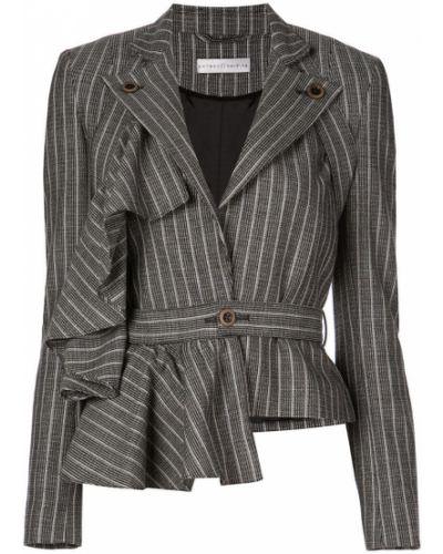 Черный удлиненный пиджак на пуговицах Palmer / Harding