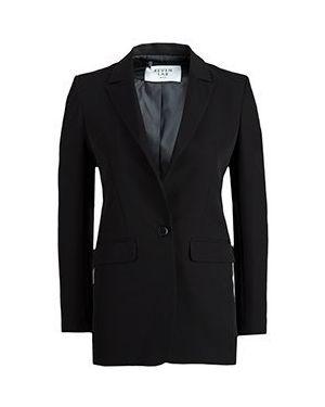 Черный пиджак из вискозы Seven Lab