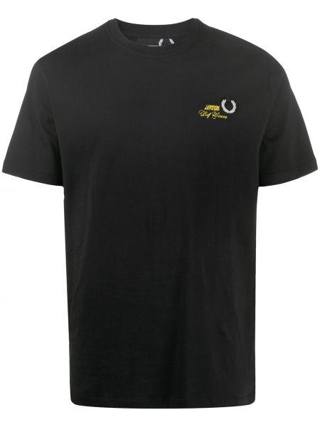Koszula krótkie z krótkim rękawem z logo prosto Raf Simons X Fred Perry