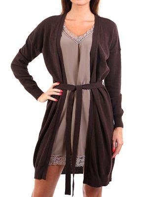 Платье из ангоры - коричневое Cerruti 18crr81
