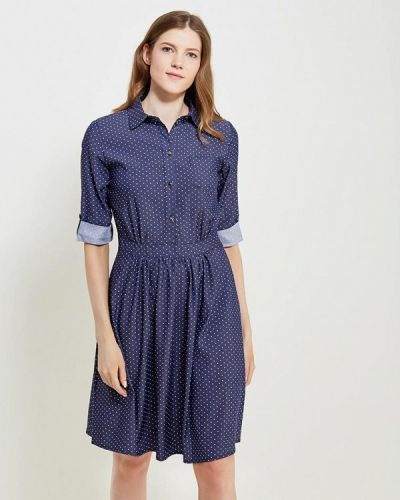 Синее платье Remix