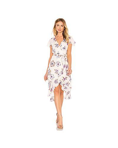 Вязаное платье с запахом с цветочным принтом J.o.a.