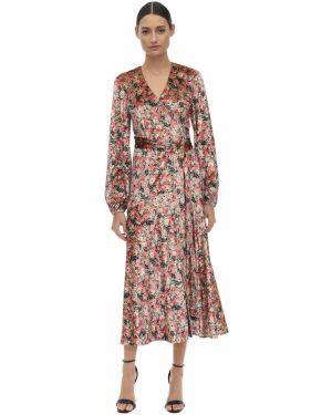 Платье макси с запахом с V-образным вырезом Rotate