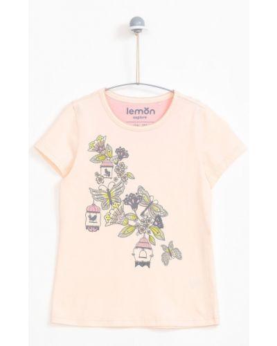 Пижама трикотажная розовый Lemon Explore