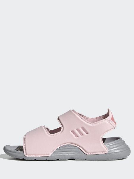 Розовые сандалии Adidas