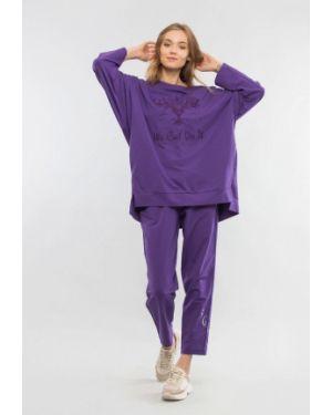 Фиолетовый спортивный костюм Maxa