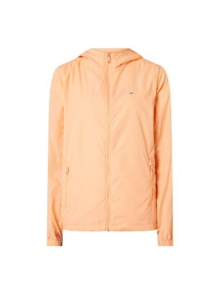 Kurtka jeansowa z kapturem - pomarańczowa Tommy Jeans