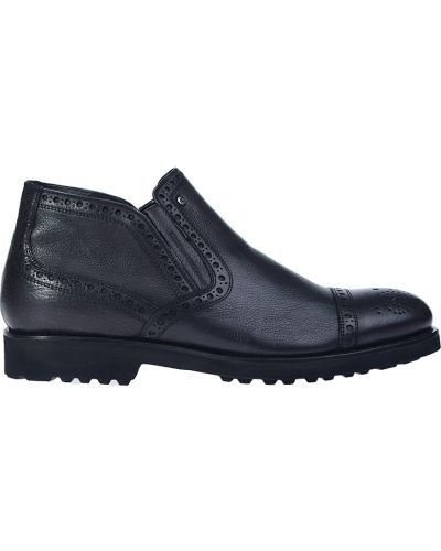 Кожаные ботинки - черные Mario Bruni