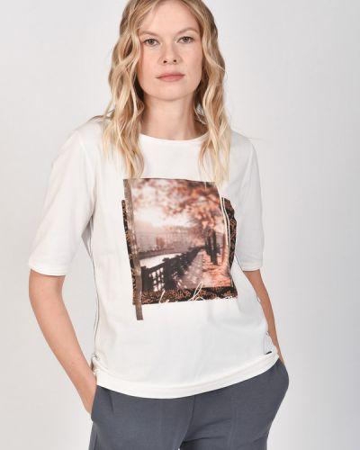 Хлопковая футболка Lecomte