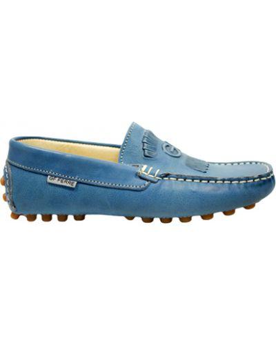 Мокасины синие Gf Ferre