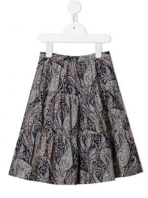 Spódnica plisowana - fioletowa Bonpoint
