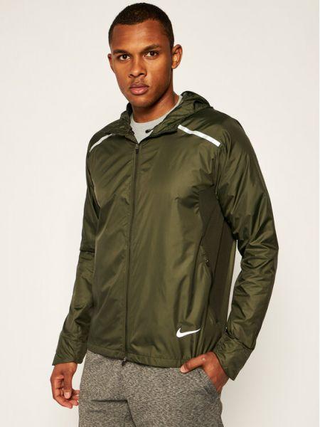 Zielona wiatrówka Nike