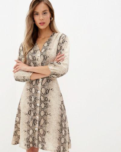 Платье осеннее прямое Imocean