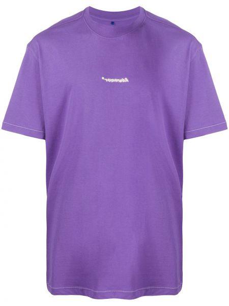 Koszula z krótkim rękawem karmazynowy fioletowy Ader Error