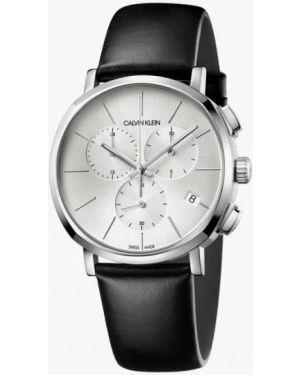 Черные часы швейцарские Calvin Klein